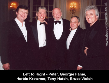Peter, Georgie Fame, Herbie Kretzmer, Tony Hatch, Bruce Welch