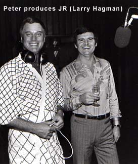 Peter Producing Larry Hagman