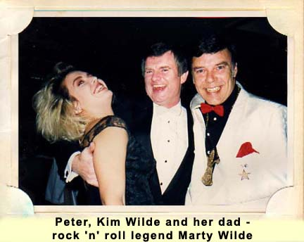 Peter, Kim Wilde & Marty Wilde